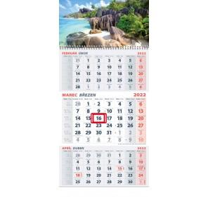 3-mesačný kalendár 2022 - MORE