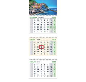 3-mesačný kalendár 2022-...