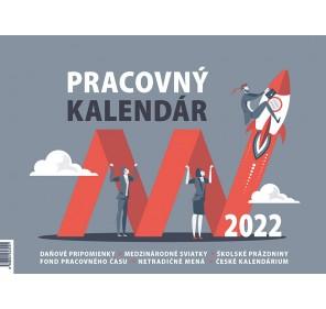 Pracovný kalendár malý 2022