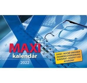 Maxi kalendár 2022
