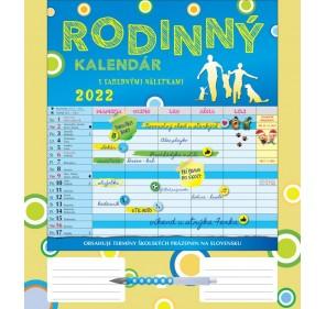 Rodinný kalendár 2022