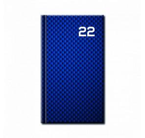 MINI DIÁR PRINT BLUE 2022
